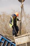 Construção de ponte nova Fotos de Stock Royalty Free