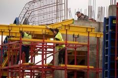 Construção de ponte nova Fotos de Stock