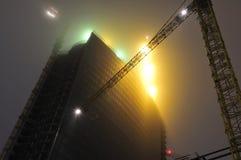 Construção de prédio de escritórios Fotografia de Stock