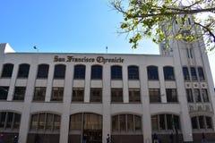 Construção de publicação do jornal de San Francisco Chronicle, 2 imagem de stock