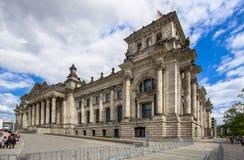 A construção de Reichstag, Berlim Imagens de Stock Royalty Free