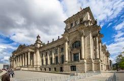A construção de Reichstag, Berlim Imagem de Stock Royalty Free