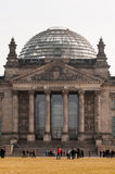 A construção de Reichstag em Berlim Foto de Stock Royalty Free