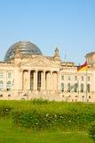 Construção de Reichstag (o governo alemão) em Berlim, Fotos de Stock Royalty Free