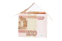 Construção de rublos de russo Imagem de Stock
