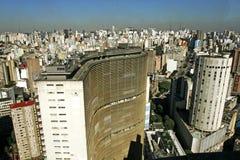 Construção de São Paulo Copan Fotografia de Stock Royalty Free