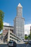 Construção de Smith Tower em Seattle, WA Fotos de Stock Royalty Free
