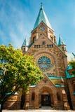 Construção de Sofia Kyrka - Sofia Church In Foto de Stock Royalty Free