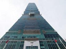 Construção de Taipei 101. Fotos de Stock