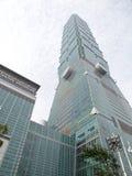 Construção de Taipei 101. Imagens de Stock Royalty Free