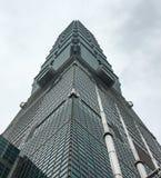 Construção de Taipei 101 em Taipei, Taiwan Foto de Stock