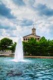 Construção de Tennessee State Capitol em Nashville Fotos de Stock