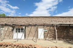 Construção de tijolo de Adobe Fotografia de Stock Royalty Free