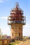 Construção de todo o templo das religiões em Kazan, foto de stock royalty free