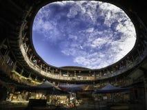Construção de Tulou em Fujian Fotografia de Stock Royalty Free