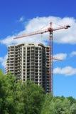 Construção de um edifício Fotografia de Stock