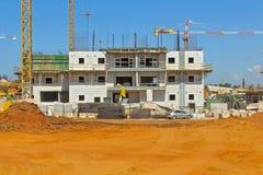 Construção de uma área residencial Fotografia de Stock Royalty Free