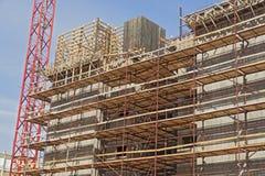 Construção de uma área residencial Imagem de Stock