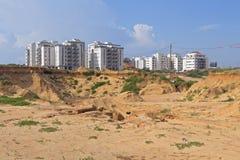 Construção de uma área residencial Foto de Stock Royalty Free