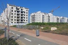 Construção de uma área residencial Foto de Stock