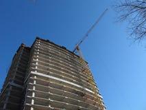 Construção de uma casa Imagens de Stock