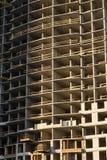 Construção de uma casa de apartamento Imagens de Stock Royalty Free