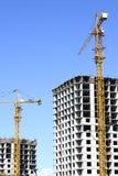 Construção de uma casa nova Fotografia de Stock
