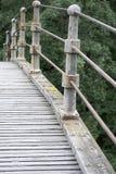 Construção de uma ponte sobre Imagens de Stock