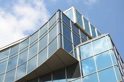 Construção de vidro Fotografia de Stock Royalty Free