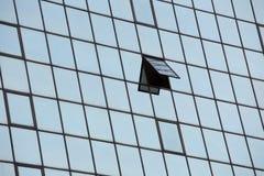 Construção de vidro de Windows Fotografia de Stock Royalty Free