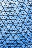 Construção de vidro do telhado fotografia de stock