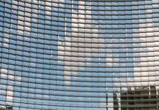 Construção de vidro moderna do arranha-céus fotos de stock royalty free