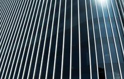 Construção de vidro redonda moderna Imagens de Stock