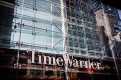 Construção de Warner Inc do tempo imagem de stock