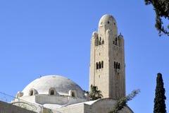 Construção de YMCA no Jerusalém. fotos de stock