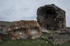 Construção de Zoravar de Saint da igreja por Mamikonyan Imagem de Stock