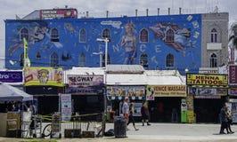 Construção decorada em Veneza, Califórnia Imagens de Stock Royalty Free