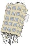 Construção desarraigada ilustração royalty free
