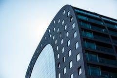 Construção do arco, Rotterdam, os Países Baixos fotografia de stock
