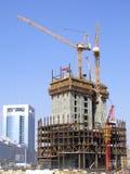 Construção do arranha-céus foto de stock