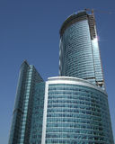 Construção do arranha-céus Imagens de Stock