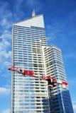 Construção do arranha-céus Fotografia de Stock
