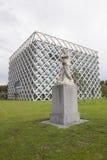 Construção do atlas no campus universitário de Wageningen Fotografia de Stock Royalty Free