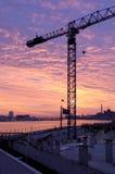 Construção do beira-rio Fotos de Stock