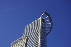 Construção do céu de Francoforte, Alemanha Fotografia de Stock Royalty Free