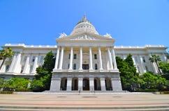 Construção do Capitólio de Sacramento, Califórnia Fotografia de Stock Royalty Free