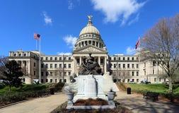 Construção do Capitólio do estado de Mississippi imagens de stock royalty free