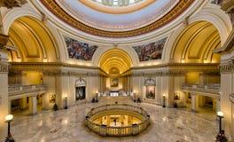 Construção do Capitólio do estado de Oklahoma Foto de Stock Royalty Free
