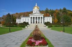 Construção do Capitólio do estado em Montpelier Vermont fotos de stock