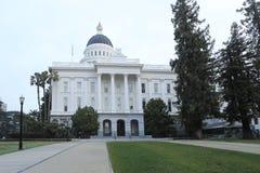 Construção do Capitólio do estado de Califórnia em Sacramento Fotografia de Stock Royalty Free